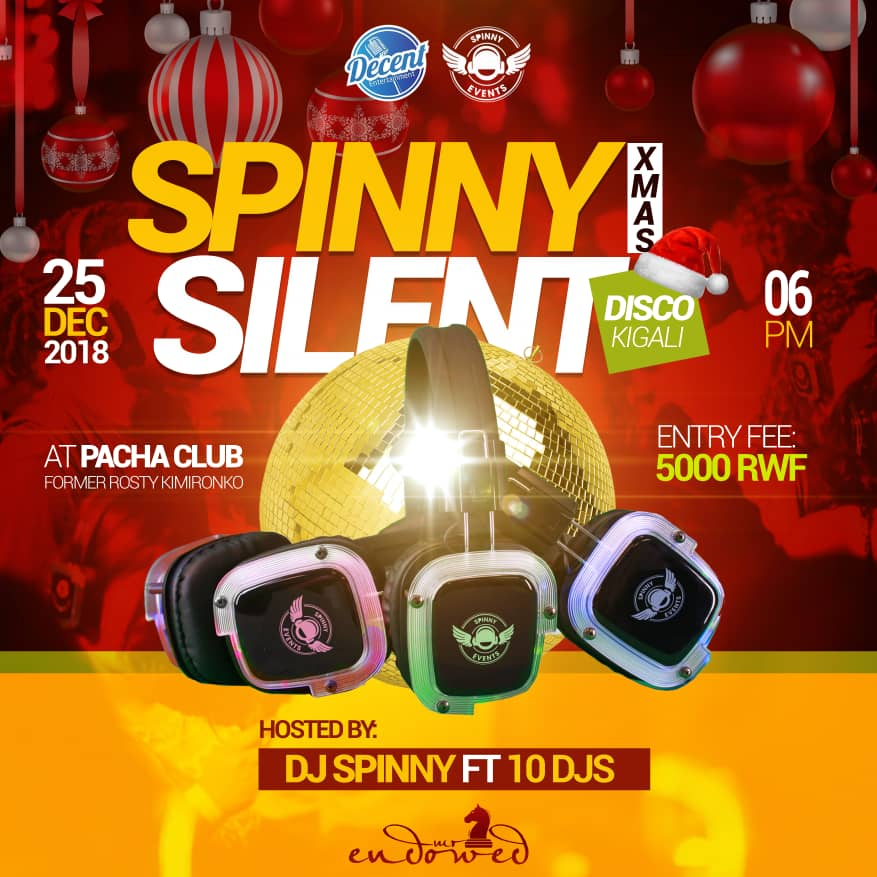 Spinny Silent Disco